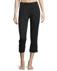 Skin Cropped Jersey Lounge Pants Black Women's