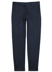 Tiger Of Sweden Gordon Navy Tapered Cotton Chinos