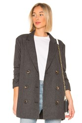 Line And Dot X Revolve Bon Jacket Gray