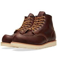 Red Wing Shoes Red Wing 8138 Heritage Work 6' Moc Toe Boot Briar Oil Slick