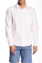 Save Khaki Poplin Work Classic Fit Shirt Pink