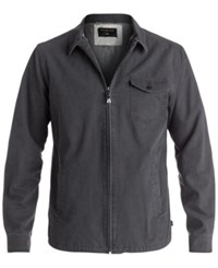 Quiksilver Men's Call Up Full Zip Jacket Tarmarc
