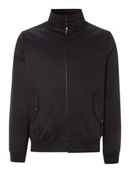 Merc Casual Full Zip Harrington Jacket Black