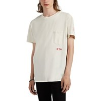 Rta Patient Print Cotton T Shirt Ivorybone