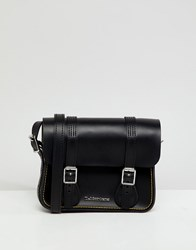 Dr. Martens Dr 7Inch Leather Satchel Black Kiev