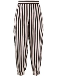 8Pm Striped Tapered Trousers 60