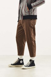 Urban Outfitters Uo Corduroy Work Pant Taupe