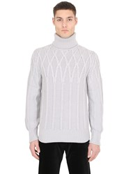 Ettore Bugatti Collection Cashmere Turtleneck Sweater