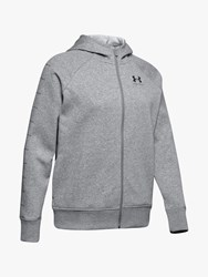 Under Armour Rival Fleece Sportstyle Full Zip Training Hoodie Steel