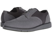 Swims Motion Wing Tip Oxford Grey Olive Shoes Green
