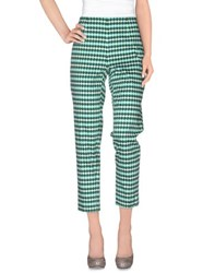 Fabrizio Lenzi Trousers Casual Trousers Women Light Green