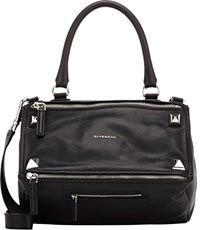 Givenchy Studded Pandora Medium Messenger Black