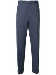 Canali Smart Trousers Blue