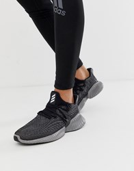 Adidas Running Alphabounce Instinct Sneakers In Black Black