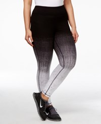Ideology Plus Size Gradient Leggings Only At Macy's