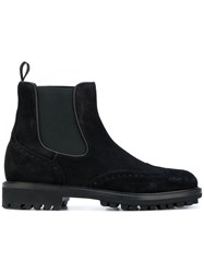 Baldinini Otter Ankle Boots Leather Suede Rubber 43.5 Black