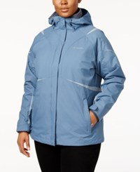 Columbia Plus Size Blazing Star 2 In 1 Jacket Aqua