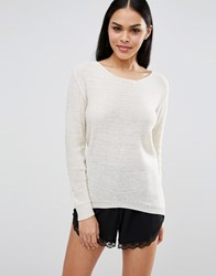 Pussycat London Jumper Cream