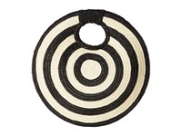 San Diego Hat Company Bsb1706 Circular Shaped Clutch Natural Clutch Handbags Beige