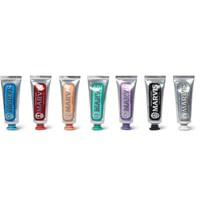 Marvis Flavour Collection Toothpaste Gift Set 7 X 25Ml Colorless