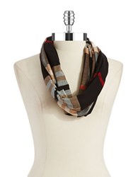 Lord And Taylor Looped Scarf Black