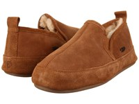 Acorn Romeo Ii Walnut Brown Sheepskin Men's Slippers