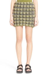 Women's Phelan 3D Circle Inlay Knit Miniskirt