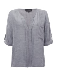 Label Lab Amy Woven Shirt Blue