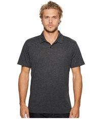 Rvca Sure Thing Ii Polo Charcoal Heather Clothing Gray