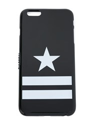 Givenchy Star And Stripes Print Iphone 6 Cover Black
