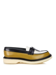 Adieu Type 32 Bi Colour Tassel Leather Loafers