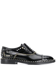 Zadig And Voltaire Youth Studs Heeled Brogues Black