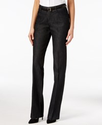 Lee Platinum Madelyn Straight Leg Trousers Black Retro