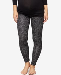 A Pea In The Pod Maternity Leggings Checkered Print