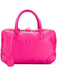 Golden Goose Deluxe Brand Small Equipage Bag Pink And Purple