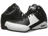 And 1 Rocket 4 Black White Men's Basketball Shoes