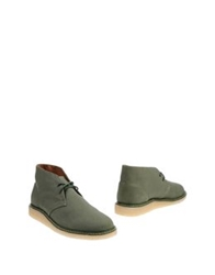 Saturdays Surf Nyc Ankle Boots Military Green