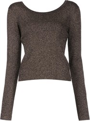 A.L.C. Round Neck Jumper Black