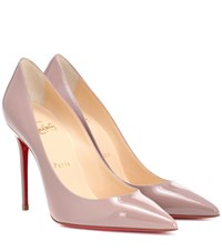 Christian Louboutin Decollete 554 100 Leather Pumps Pink