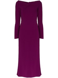 Roland Mouret Romolo Fitted Midi Dress 60