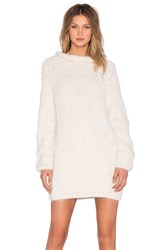 Ayni Anona Oversized Sweater Dress Cream