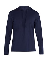 Polo Ralph Lauren Hooded Cotton Pyjama Top Navy