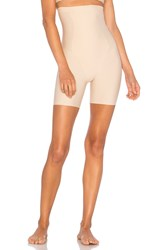 Yummie Tummie Hidden Curves High Waist Thigh Shaper Beige
