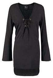 All About Eve All On Deck Summer Dress Black
