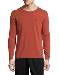 Strellson Classic Cotton Sweater Red