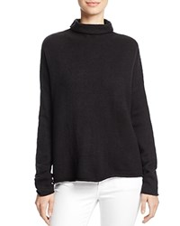 French Connection Weekend Flossie Roll Neck Sweater Black