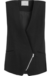 Iro Wallony Twill Vest Black