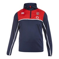 Canterbury Of New Zealand England Hybrid Hoodie Navy