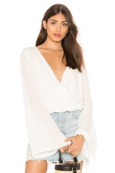 The Jetset Diaries Ines Top White