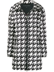 Perfect Moment Polar Houndstooth Puffer Jacket Black
